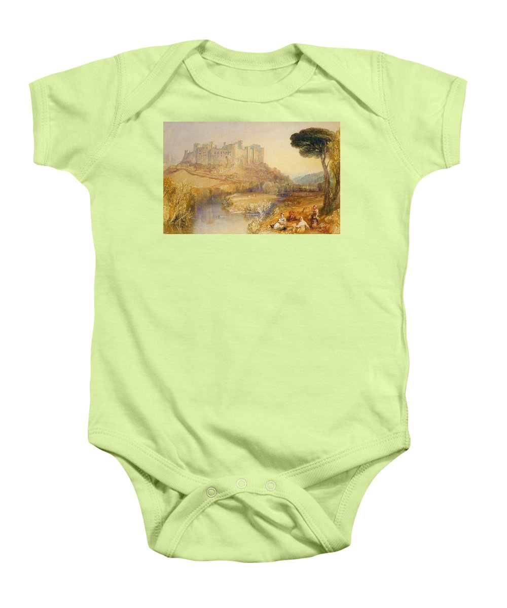 Ludlow Baby Onesie featuring the painting Ludlow Castle by Joseph Mallord William Turner