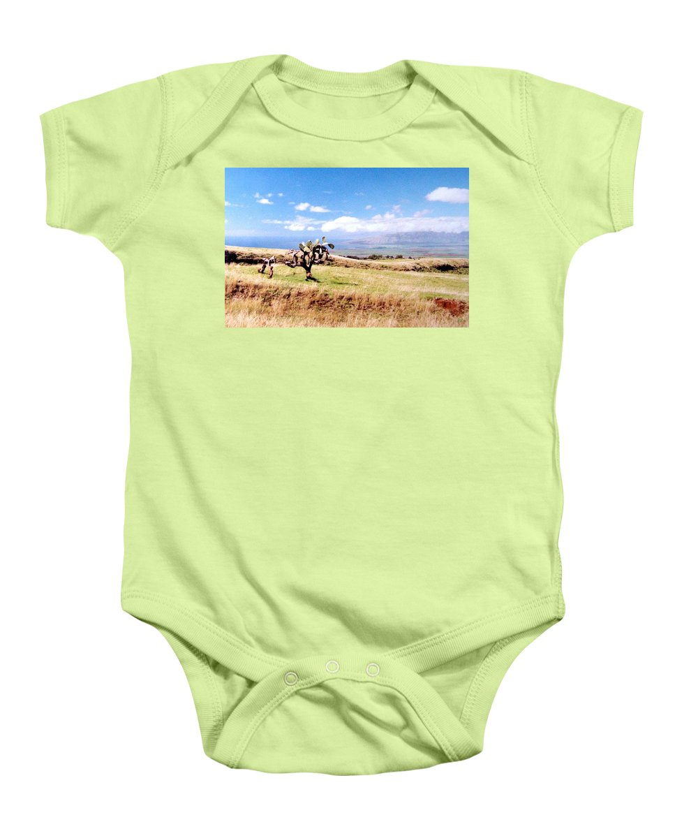 1986 Baby Onesie featuring the photograph Maui Upcountry by Will Borden