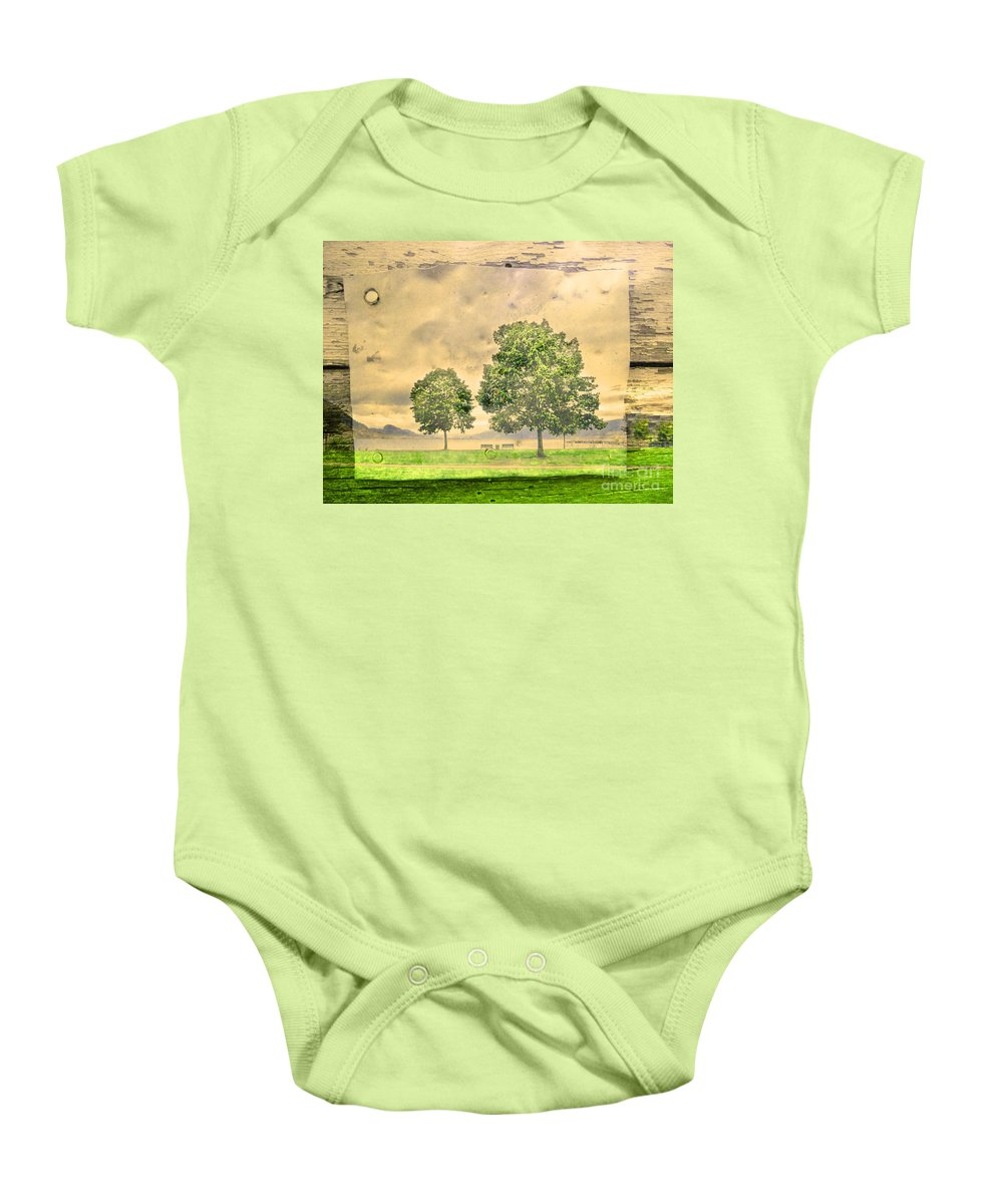 Lake Baby Onesie featuring the photograph Memories Of The Lake by Tara Turner