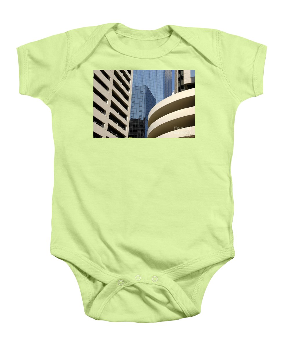Modern Baby Onesie featuring the photograph Modern Architecture by David Lee Thompson