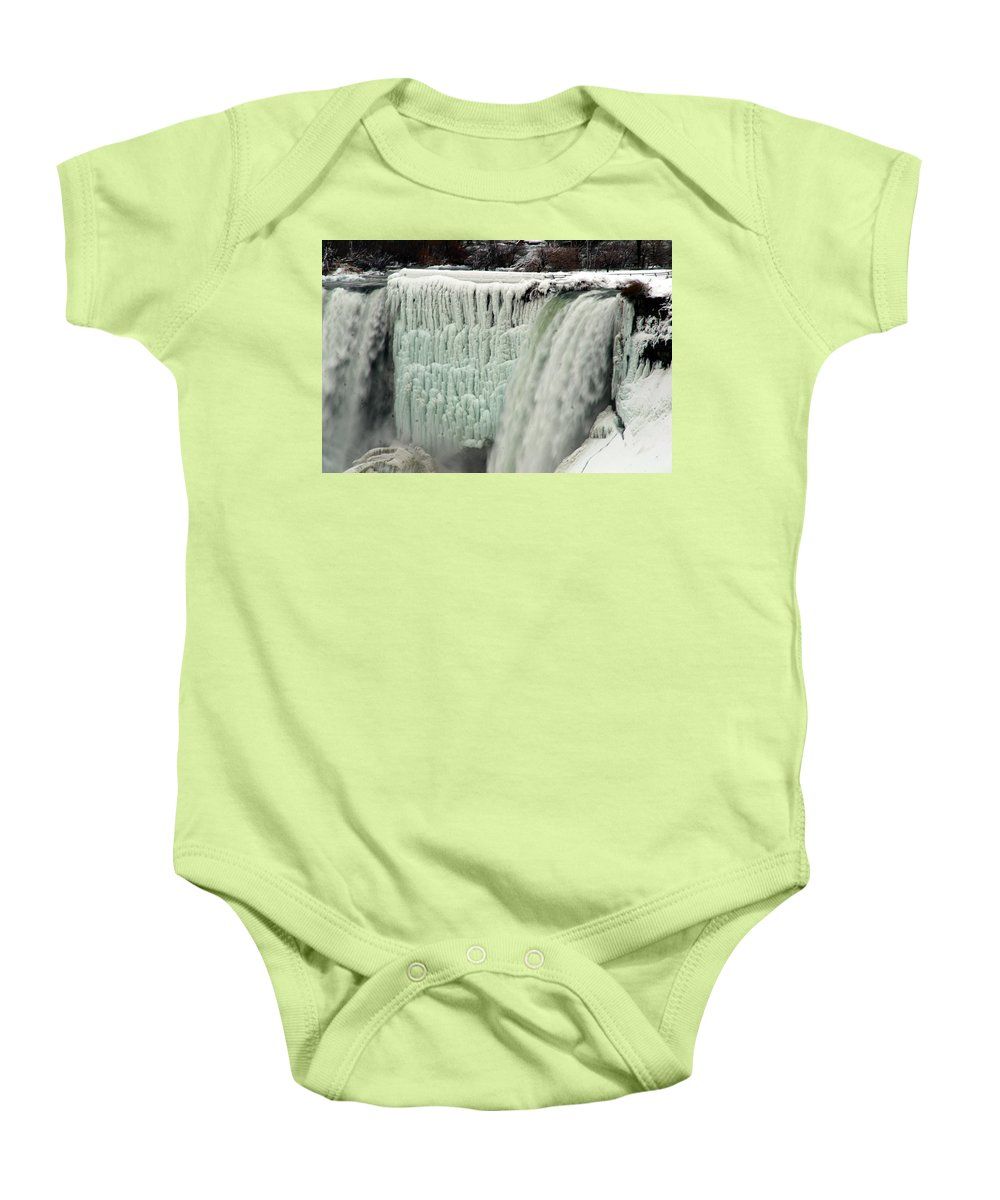 Landscape Baby Onesie featuring the photograph Niagara Falls 7 by Anthony Jones
