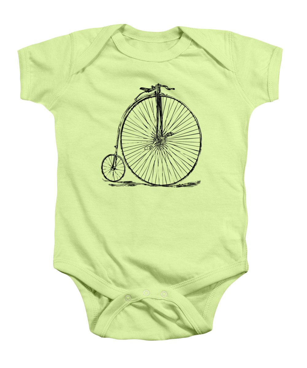 Bicycle Baby Onesies