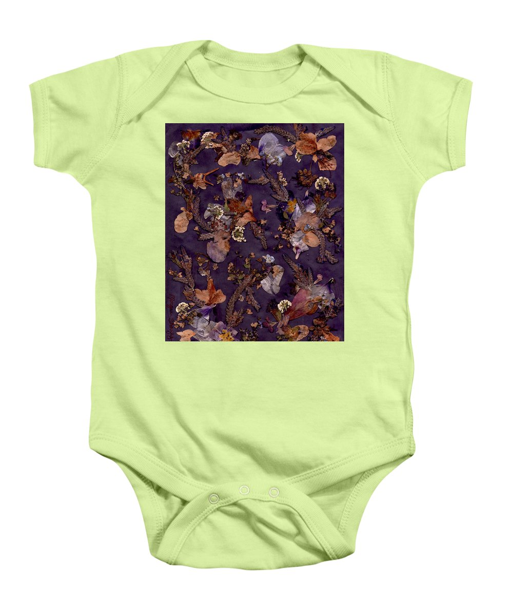 Modern Baby Onesie featuring the photograph Pungent Purples And Pretty In Pinks by Morgan Shoaff