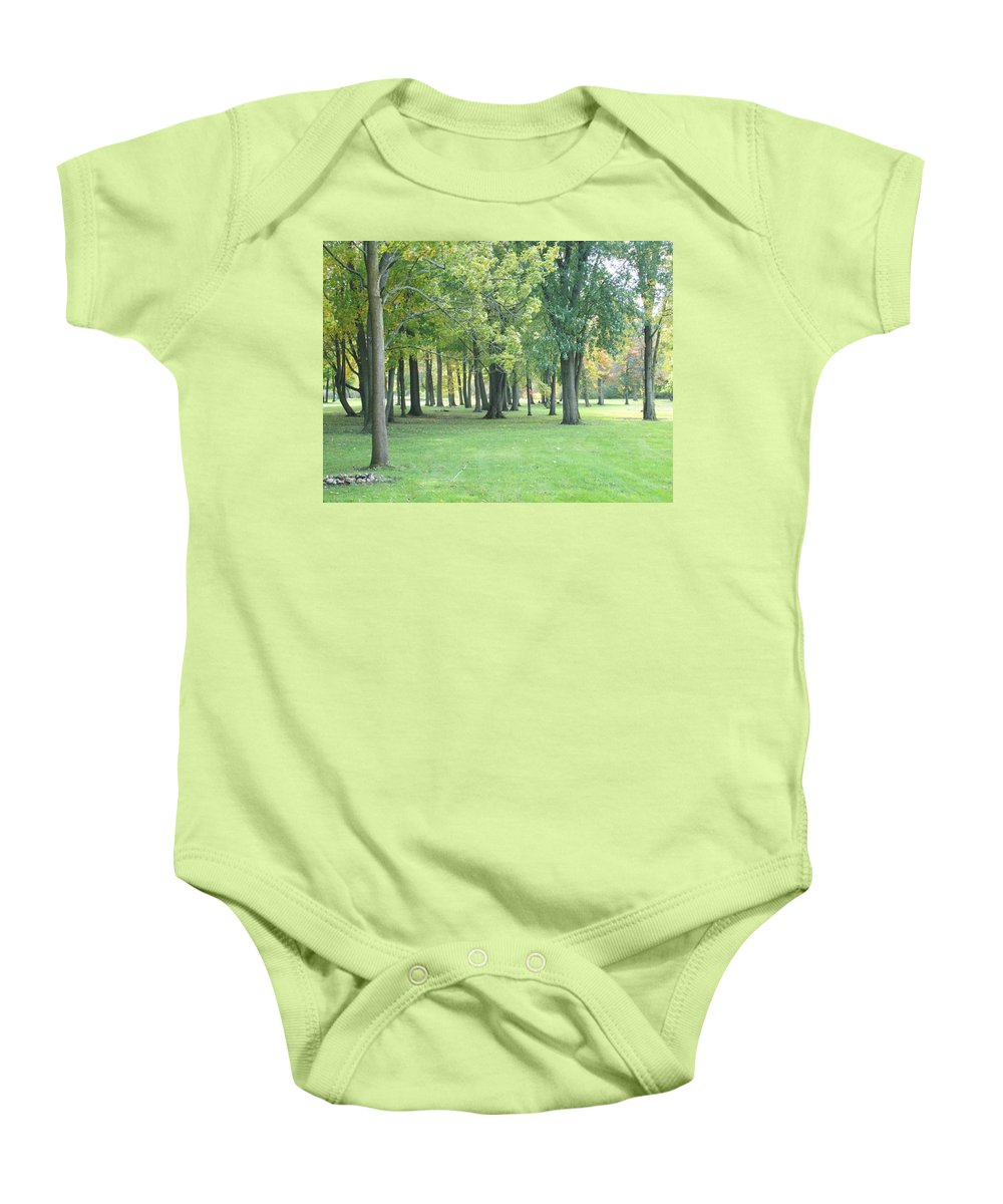 Tmad Baby Onesie featuring the photograph Relaxing Tranquility by Michael TMAD Finney