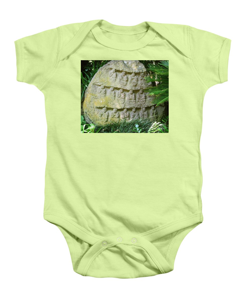 Stone Baby Onesie featuring the photograph Sacred Stone by Dean Triolo