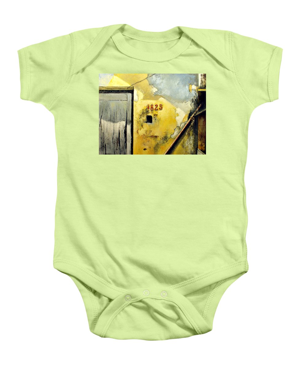 Havana Baby Onesie featuring the painting Solana by Tomas Castano