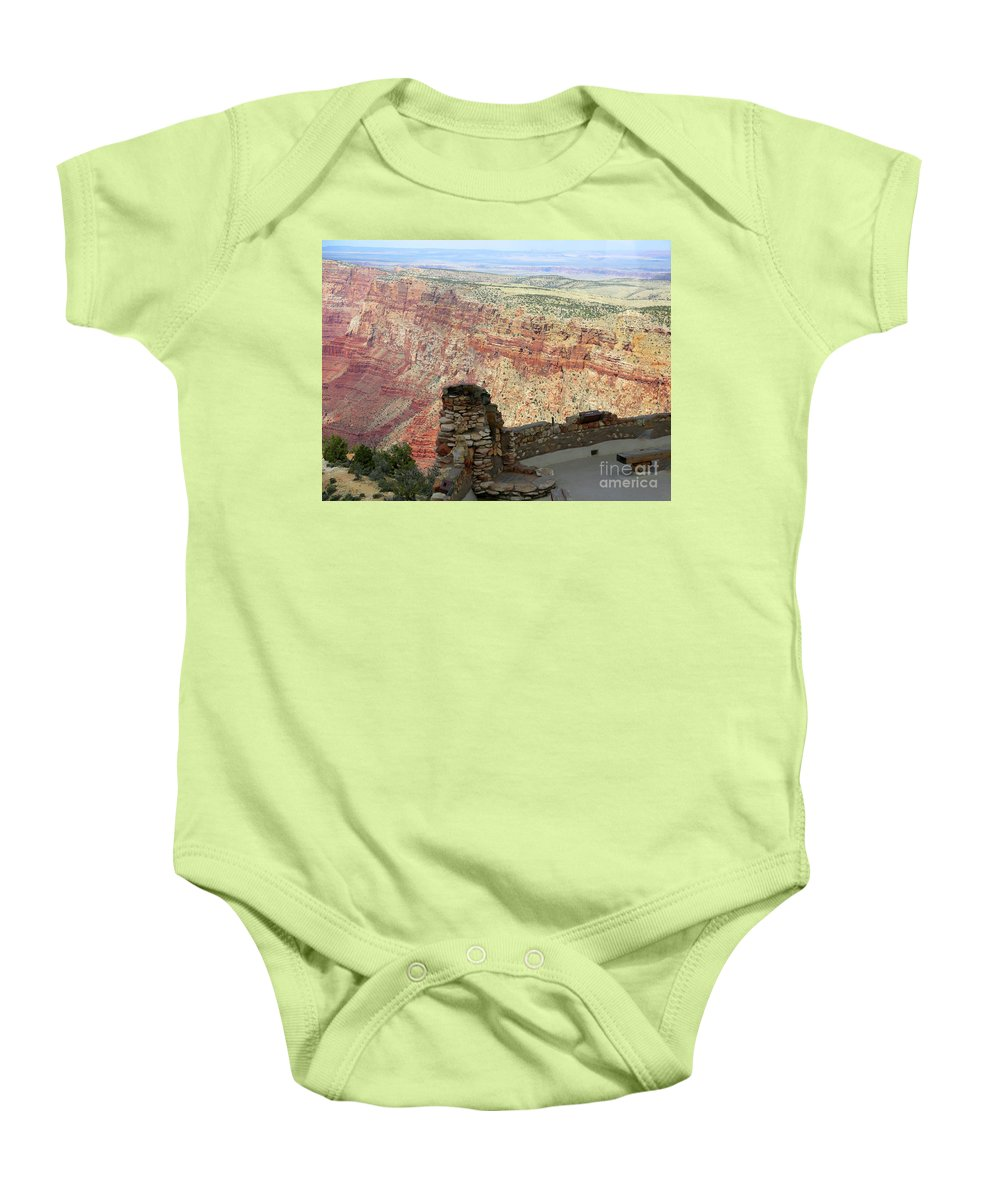 Grand Canyon Baby Onesie featuring the photograph South Rim Grand Canyon by Chuck Kuhn