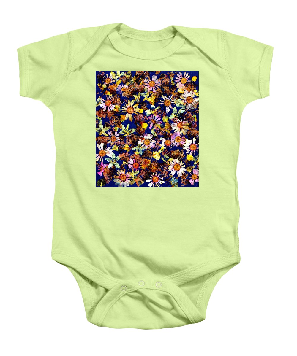 Modern Baby Onesie featuring the photograph Sunny Dais Y by Morgan Shoaff