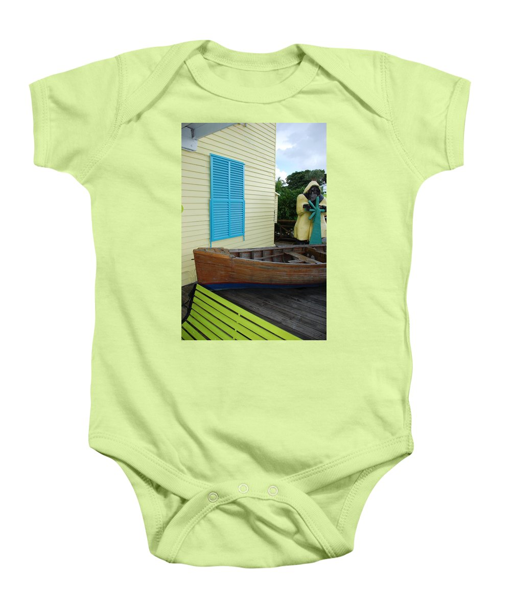 Architecture Baby Onesie featuring the photograph The Gordons Fisherman House by Rob Hans
