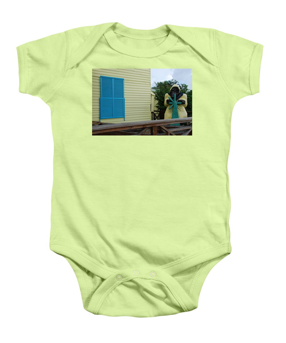 Architecture Baby Onesie featuring the photograph The Gordons Fisherman by Rob Hans