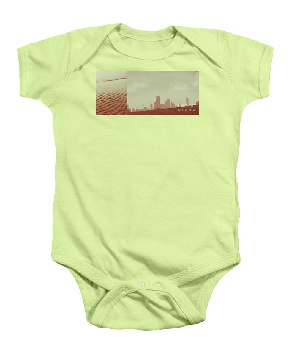 Beach Baby Onesie featuring the photograph The Other Side Of Fate by Dana DiPasquale