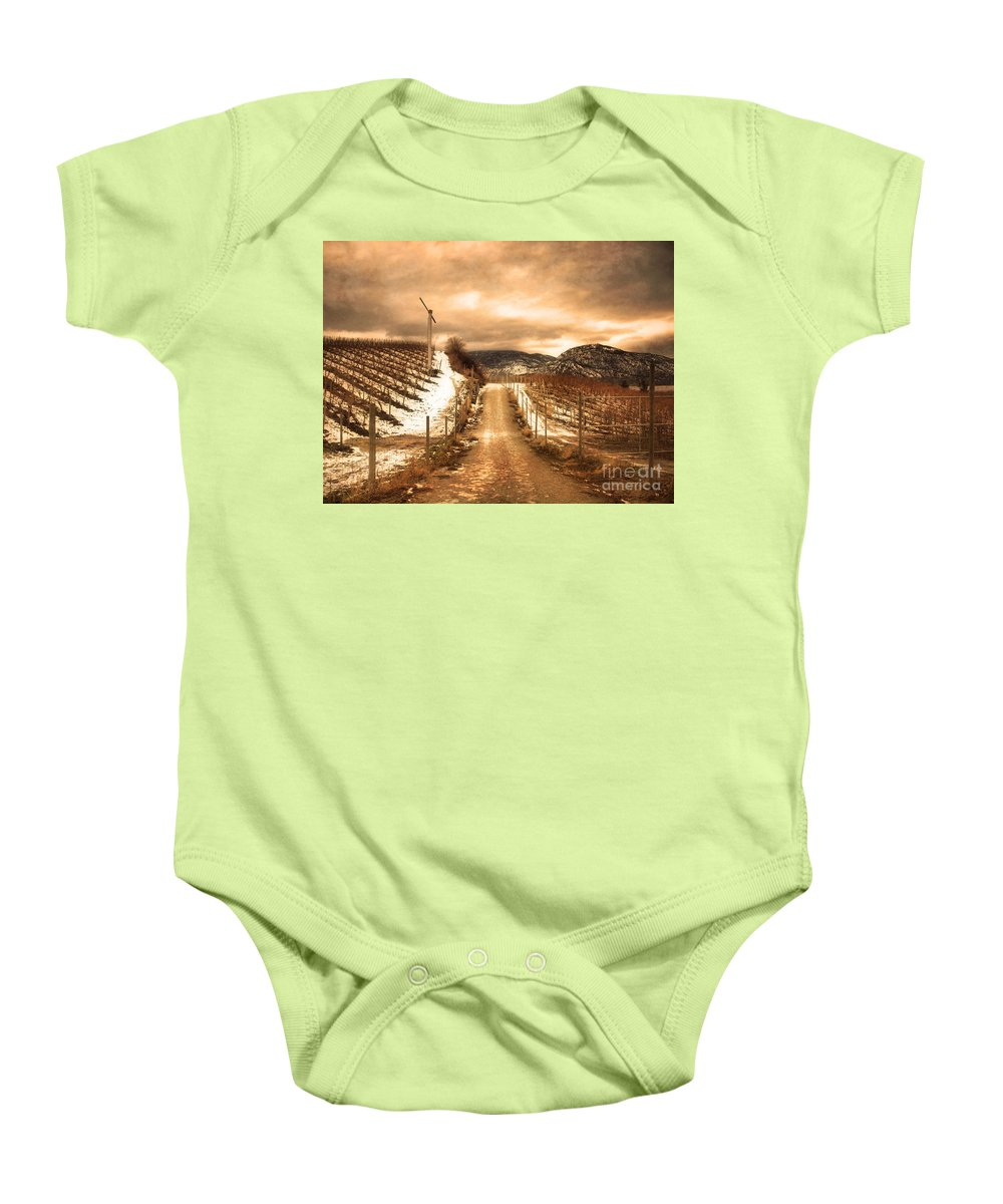 Kvr Baby Onesie featuring the photograph The Small Hill by Tara Turner
