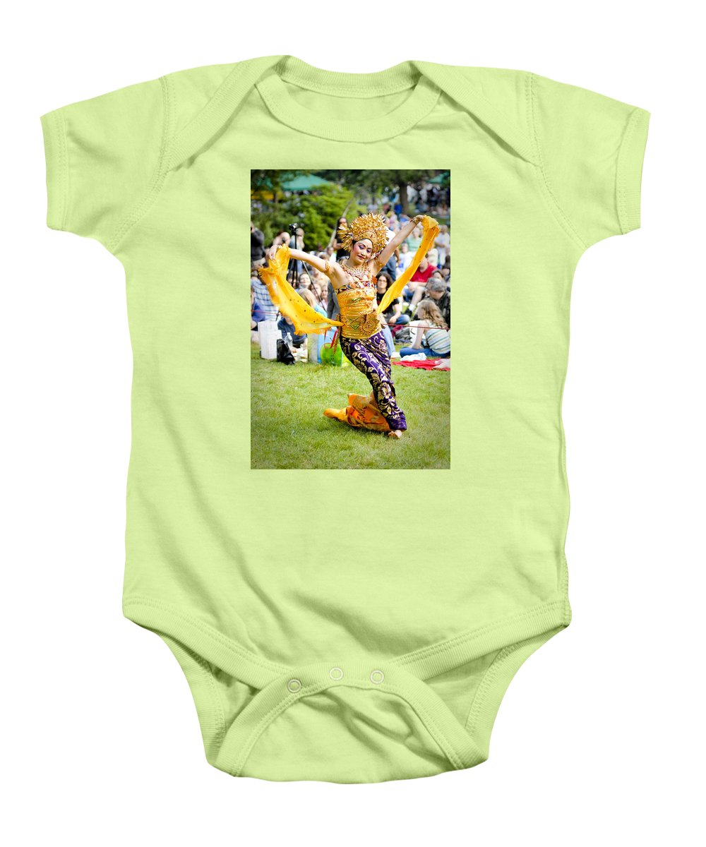 Dance Baby Onesie featuring the photograph Tiny Dancer by Greg Fortier