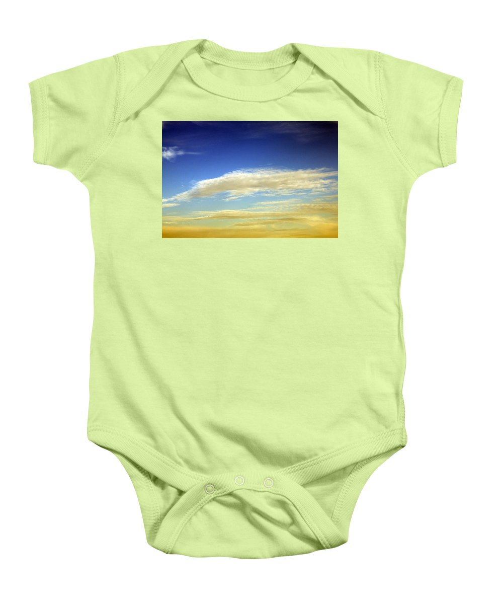 Cloud Baby Onesie featuring the photograph Travel Through Clouds by Munir Alawi