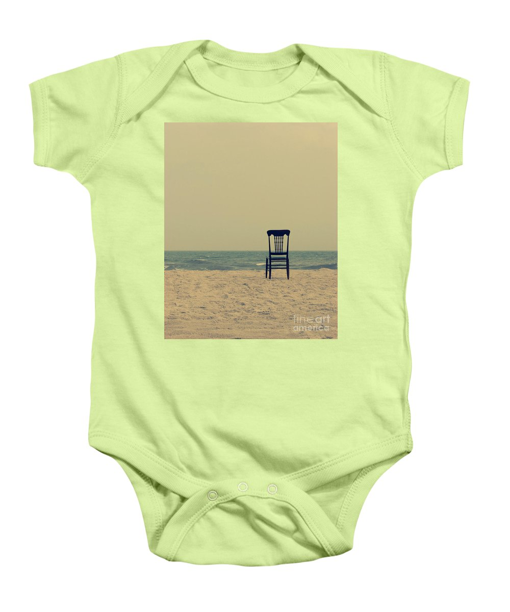 Ocean Baby Onesie featuring the photograph Until Tomorrow And Tomorrow And Tomorrow by Dana DiPasquale