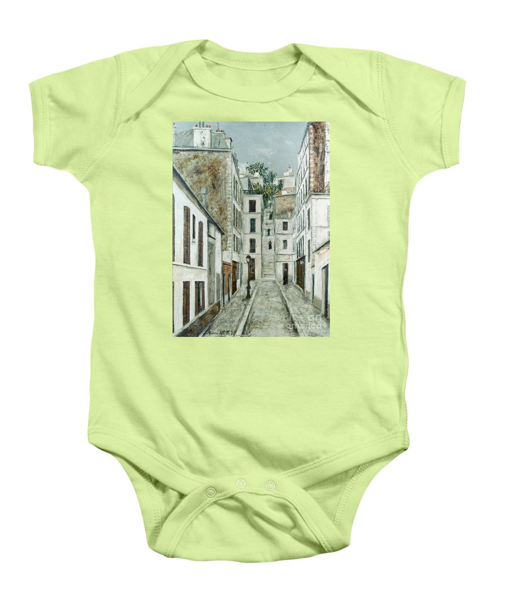 1911 Baby Onesie featuring the photograph Utrillo: Limpasse, 1911 by Granger