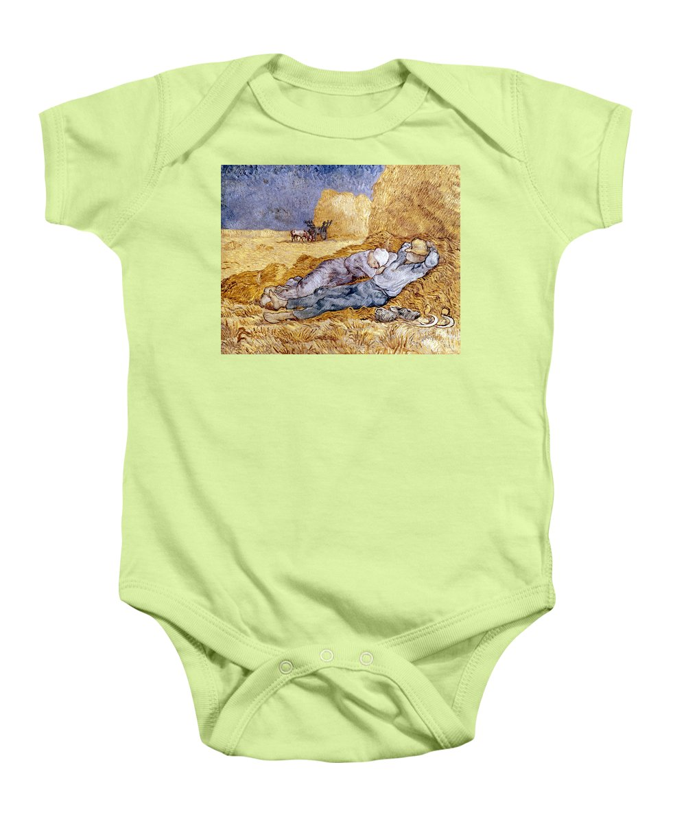 1890 Baby Onesie featuring the photograph Van Gogh: Noon Nap, 1889-90 by Granger