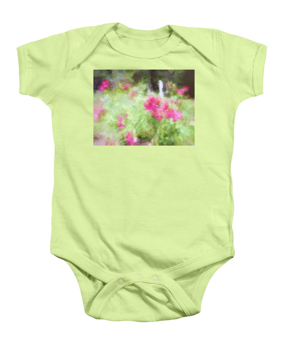 Yaddo Baby Onesie featuring the photograph Yaddo Xxi by Tina Baxter