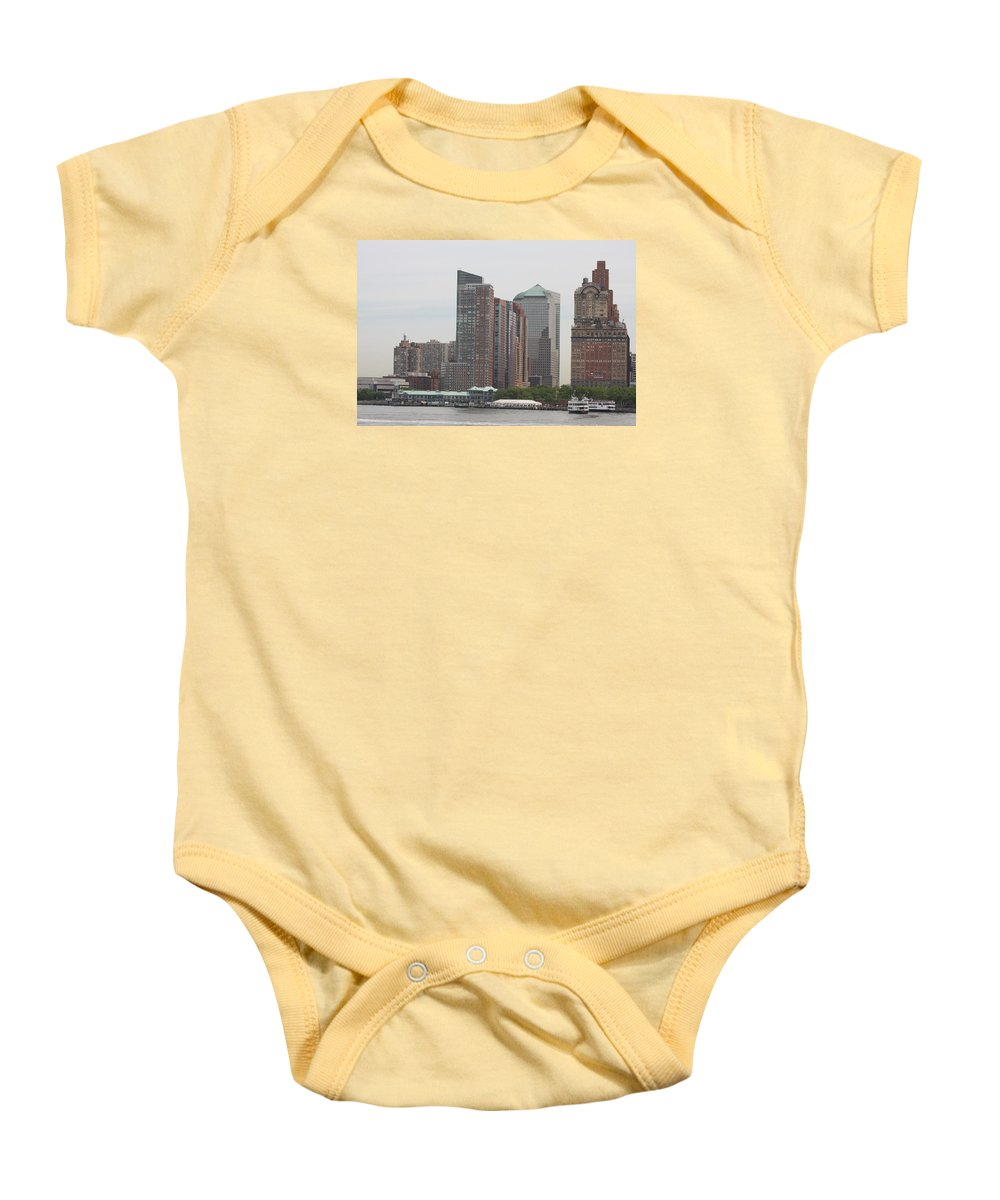 New York Baby Onesie featuring the photograph New York - New York by Christiane Schulze Art And Photography
