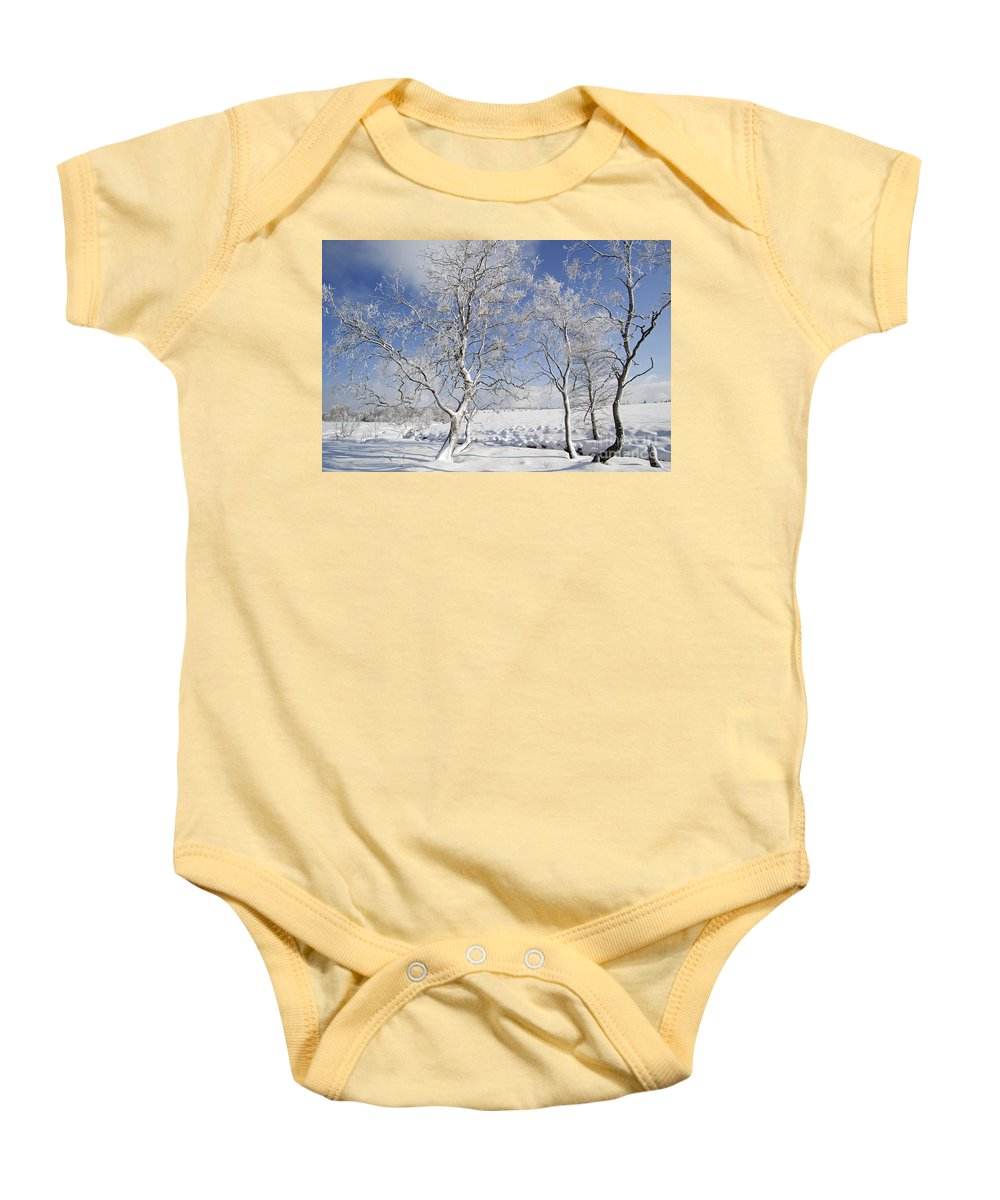 High Fens Baby Onesie featuring the photograph 130201p335 by Arterra Picture Library
