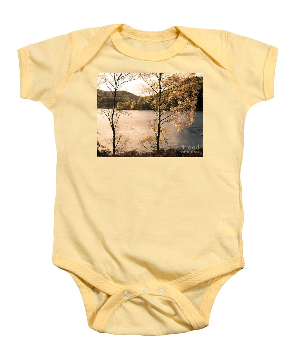 Great Britain Baby Onesie featuring the photograph A Moment Of Gold by Edmund Nagele
