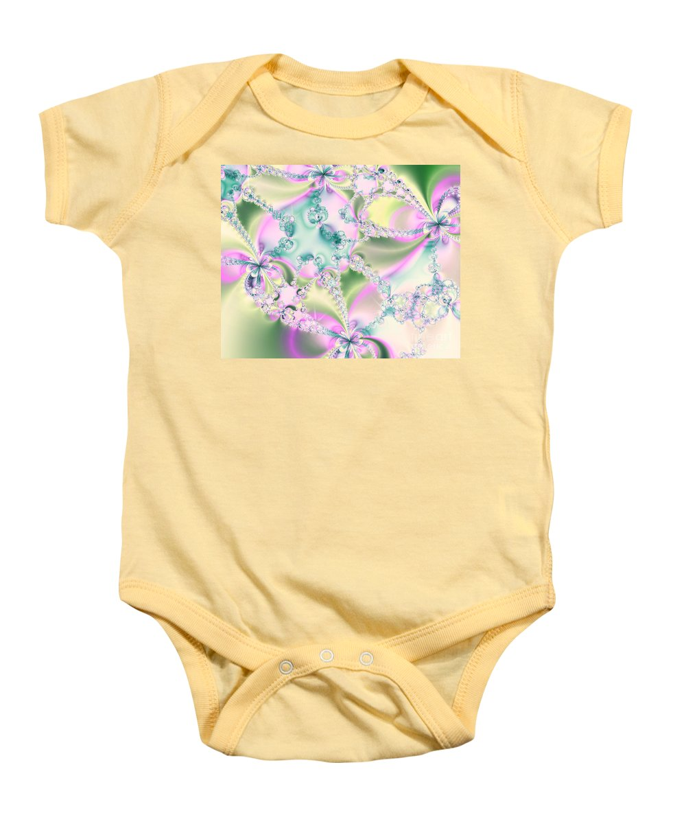 Limitation Of Dreams Baby Onesie featuring the digital art Limitation Of Dreams Abstract Art Prints by Valerie Garner