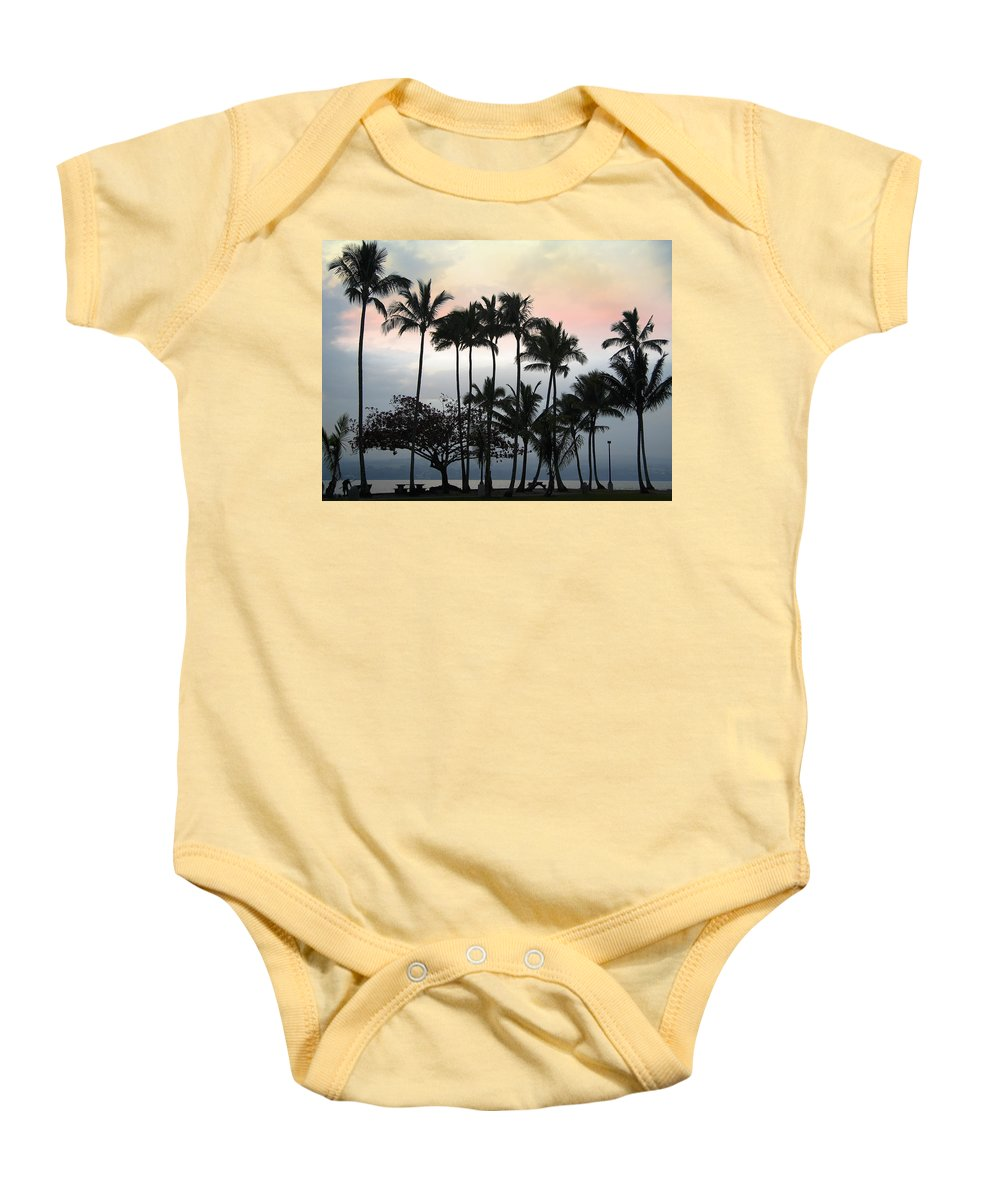 Fisherman Baby Onesie featuring the photograph Putting The Pole Away by Daniel Hagerman