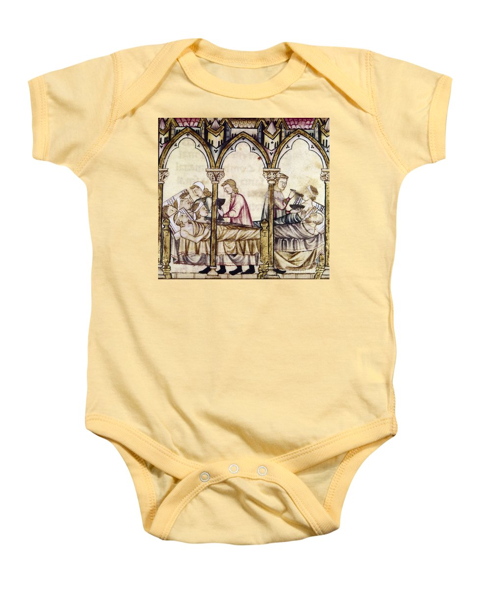 13th Century Baby Onesie featuring the photograph Spain: Medieval Hospital by Granger