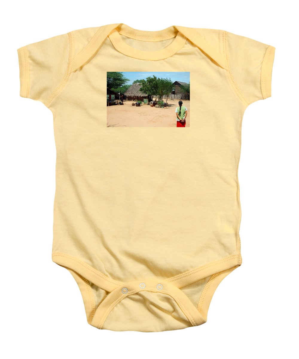 Baby Onesie featuring the photograph Burma Small Village by RicardMN Photography