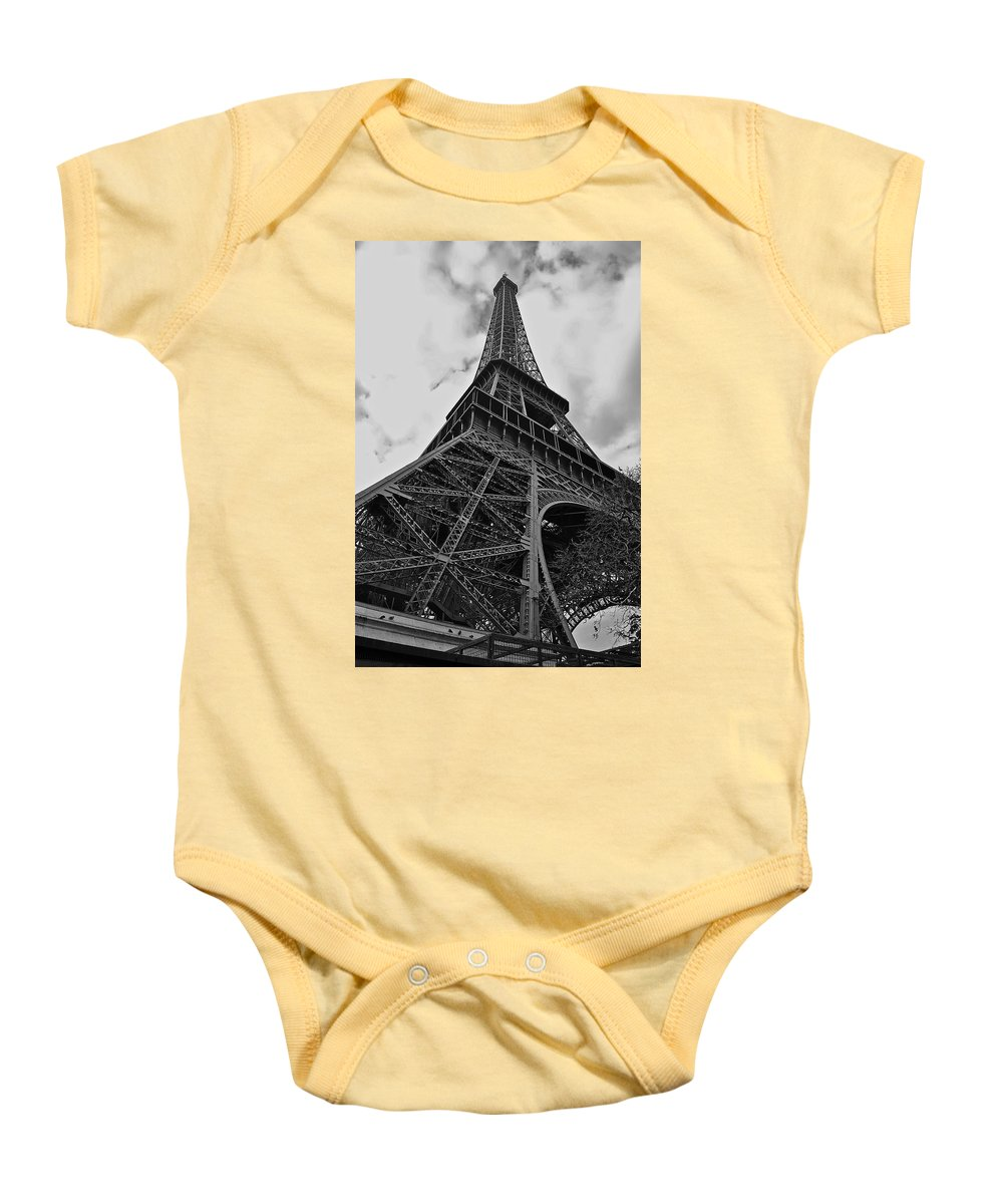 Eiffel Tower Baby Onesie featuring the photograph Still Standing by Eric Tressler