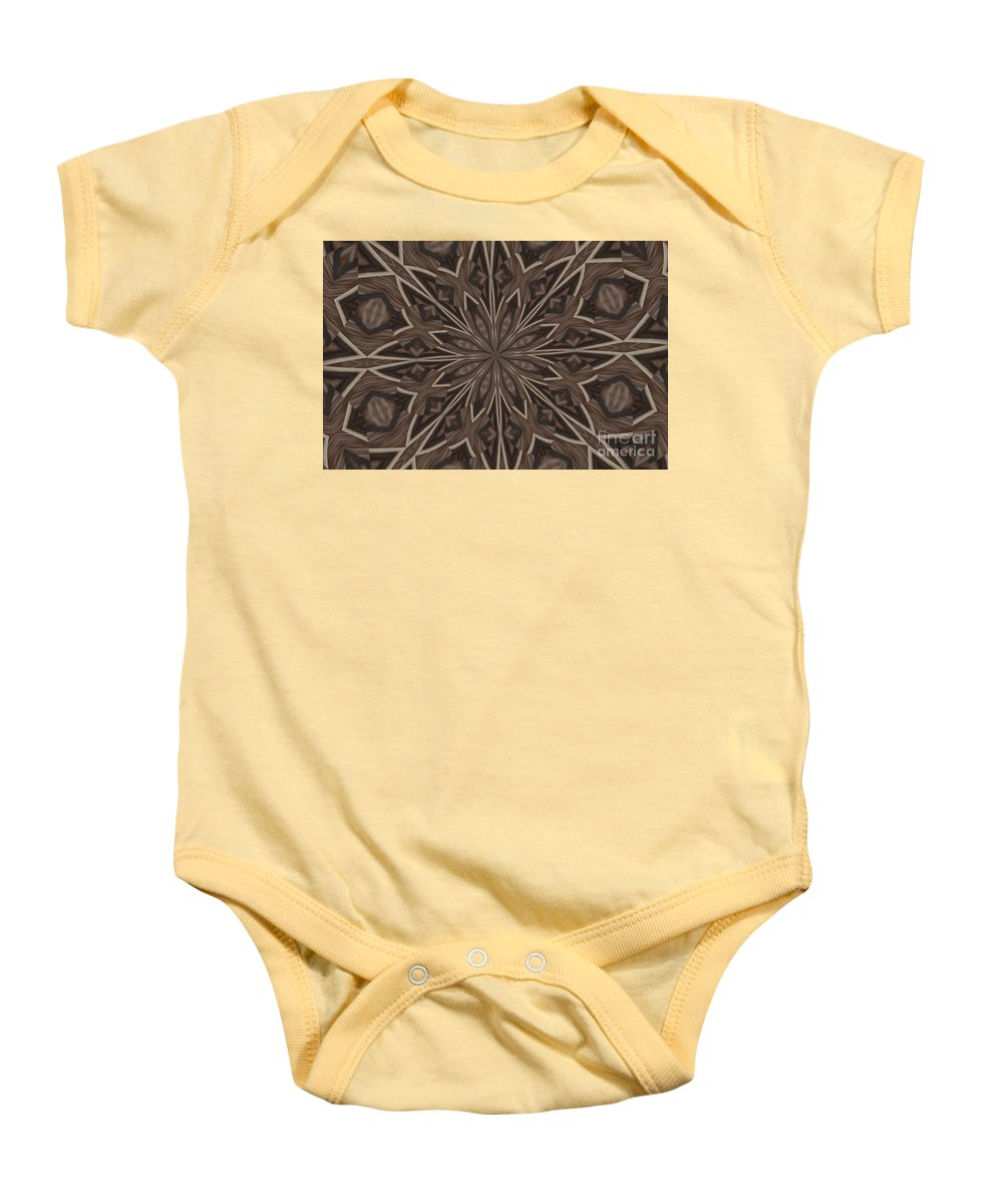 Kaleidoscope Baby Onesie featuring the photograph Very Difference by Donna Brown