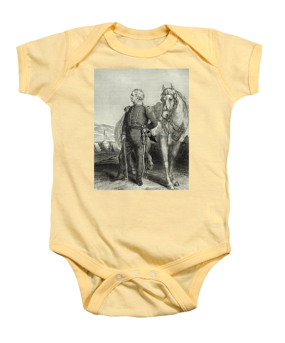 zachary Taylor Baby Onesie featuring the photograph Zachary Taylor by International Images
