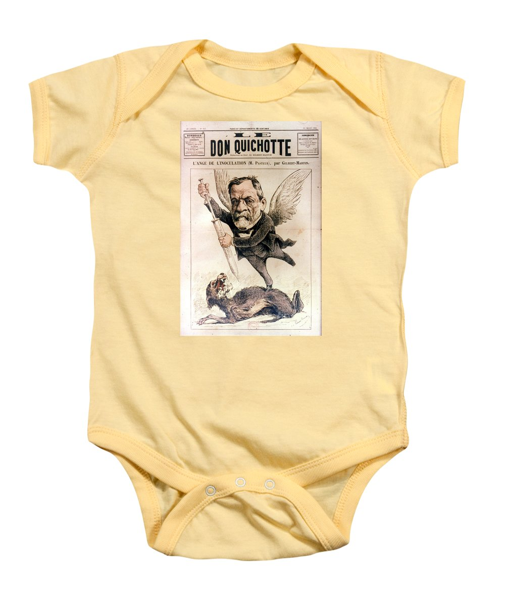 1886 Baby Onesie featuring the photograph Louis Pasteur (1822-1895) by Granger