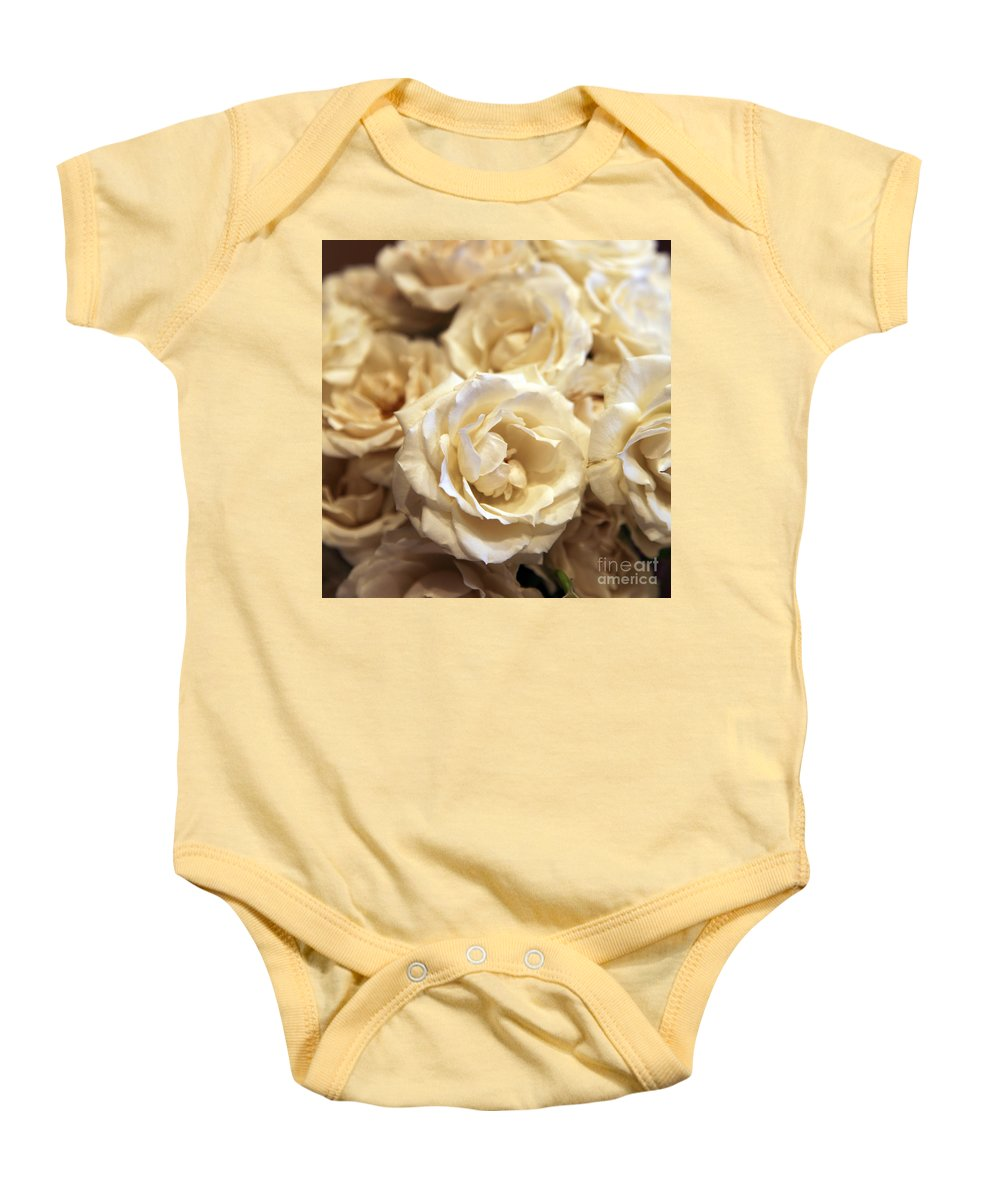 Roses Baby Onesie featuring the photograph Roses by Amanda Barcon