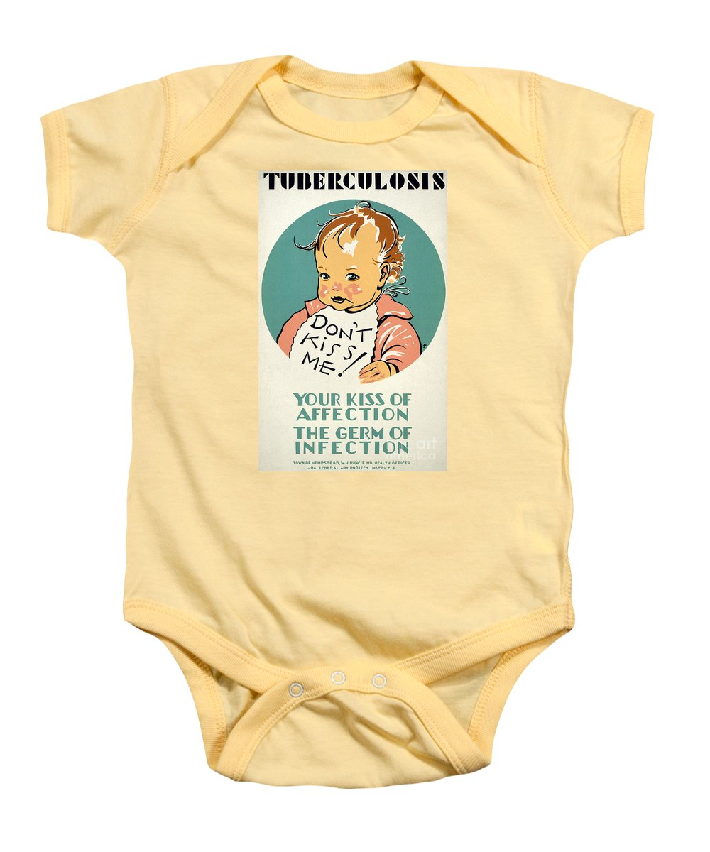 1936 Baby Onesie featuring the photograph New Deal: Wpa Poster by Granger