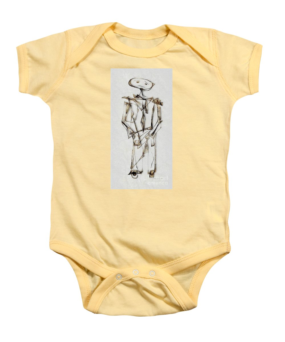 Abstraction Baby Onesie featuring the photograph Abstraction 2849 by Marek Lutek