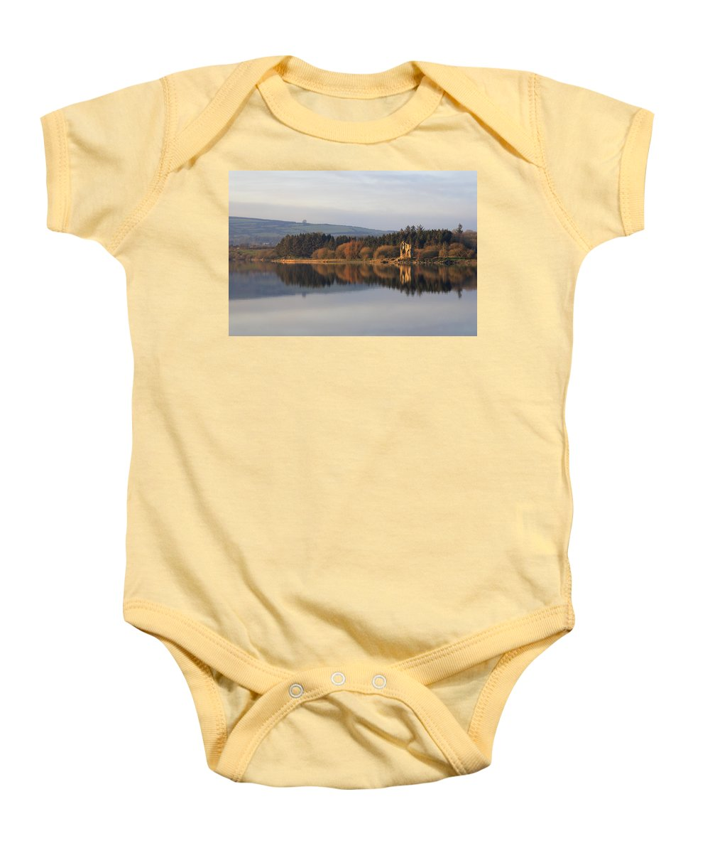 Lake Baby Onesie featuring the photograph Blessington Lakes by Phil Crean