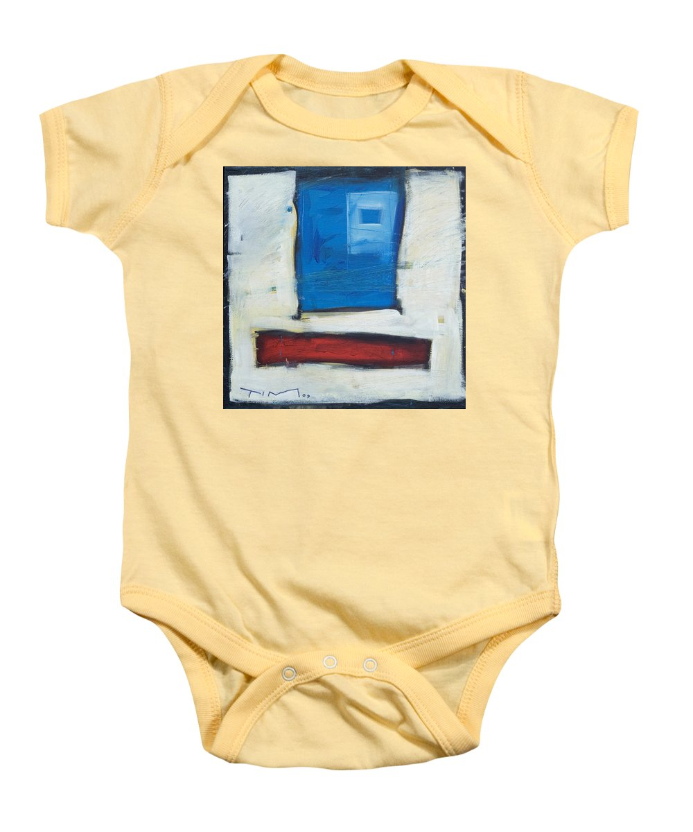 Clown Baby Onesie featuring the painting Clown by Tim Nyberg
