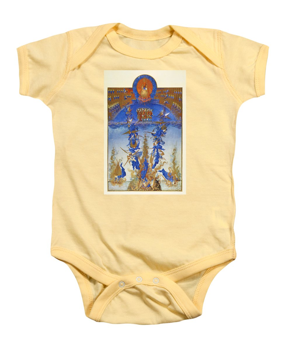 15th Century Baby Onesie featuring the photograph Fall Of Rebel Angels by Granger