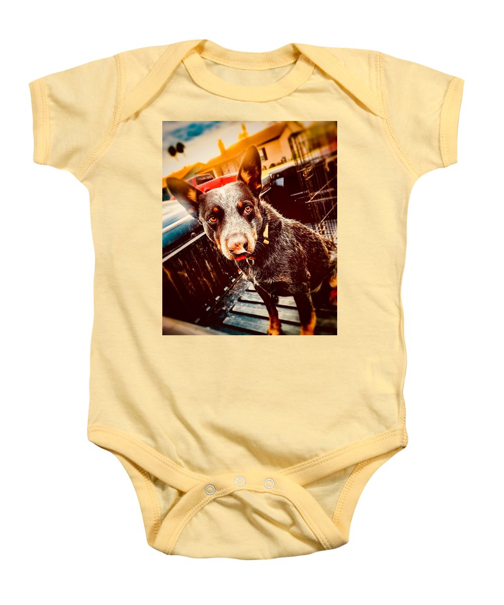 Baby Onesie featuring the photograph Feather by Lisa Anne Warren