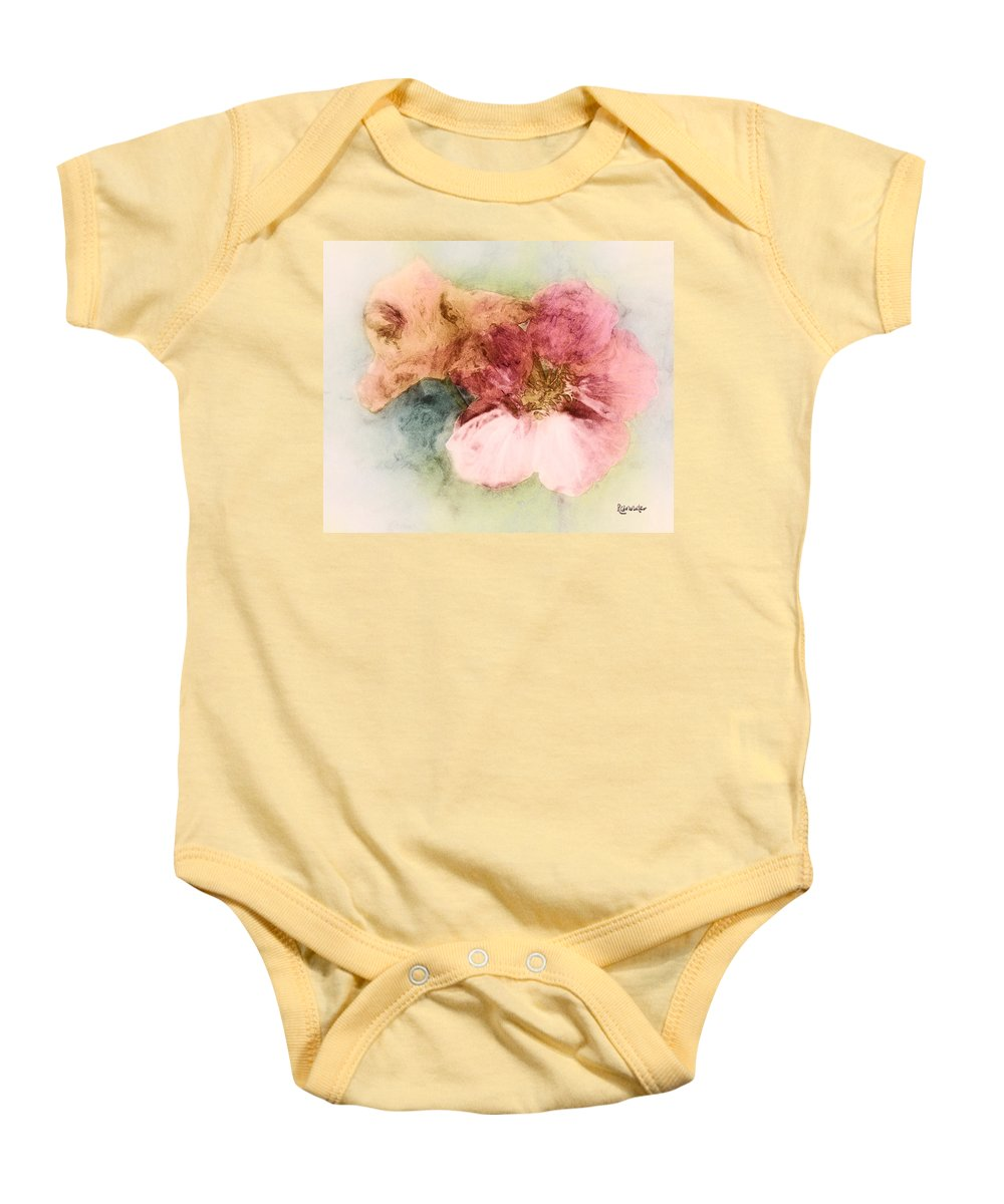 Flowers Baby Onesie featuring the digital art Gone Native by RC DeWinter