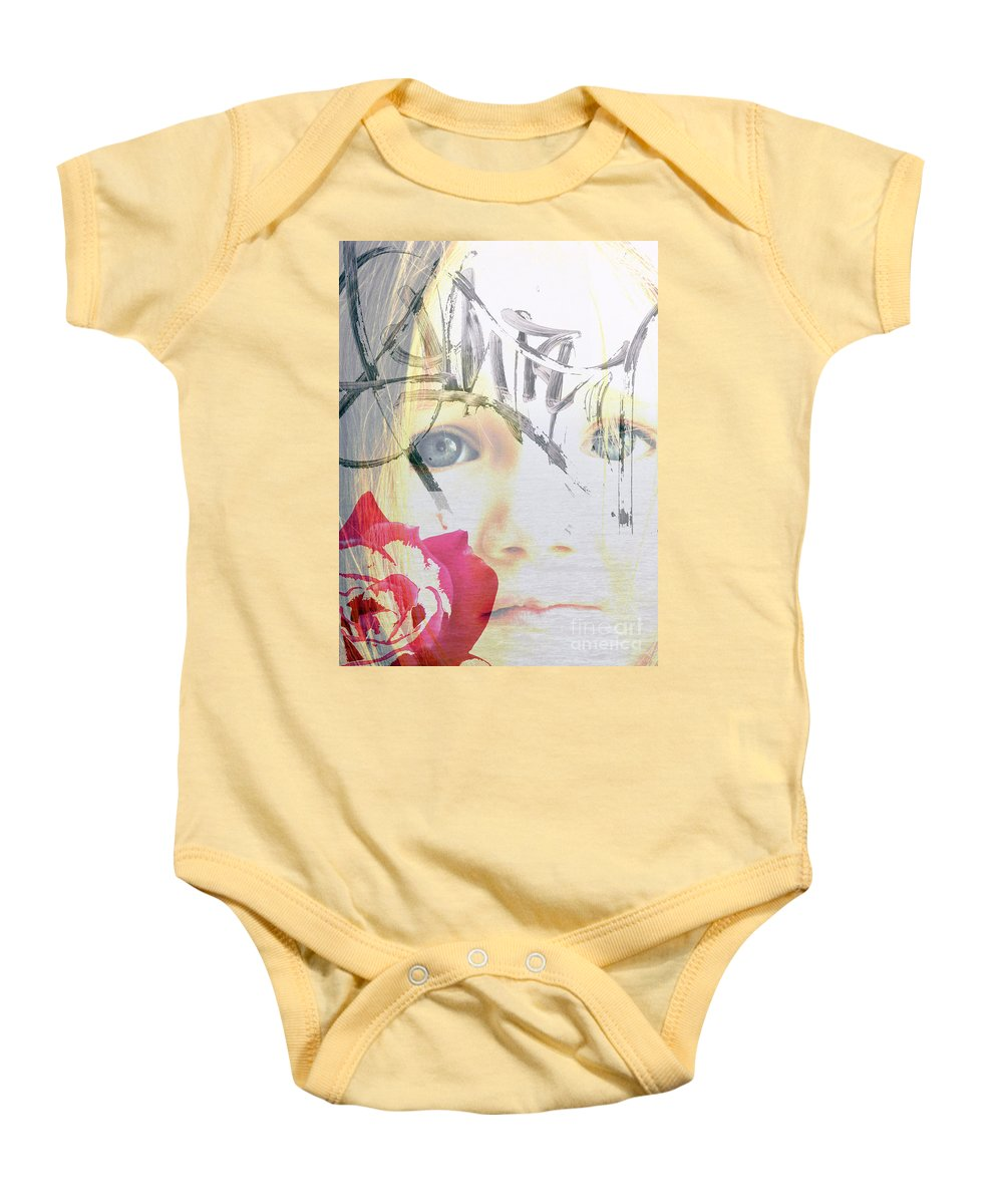 Modern Baby Onesie featuring the photograph Hope For The Future by Amanda Barcon