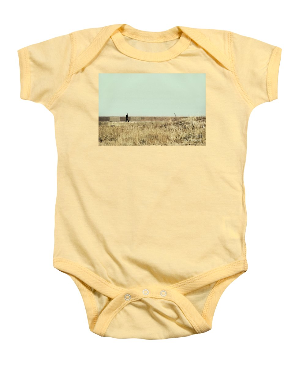 Dipasquale Baby Onesie featuring the photograph I Remember What We Said by Dana DiPasquale