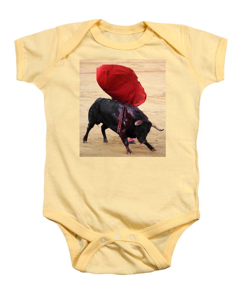 Spain Baby Onesie featuring the photograph Invisible Matador by Rafa Rivas