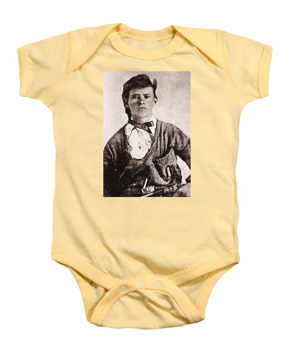 1873 Baby Onesie featuring the photograph Jesse James (1847-1882) by Granger