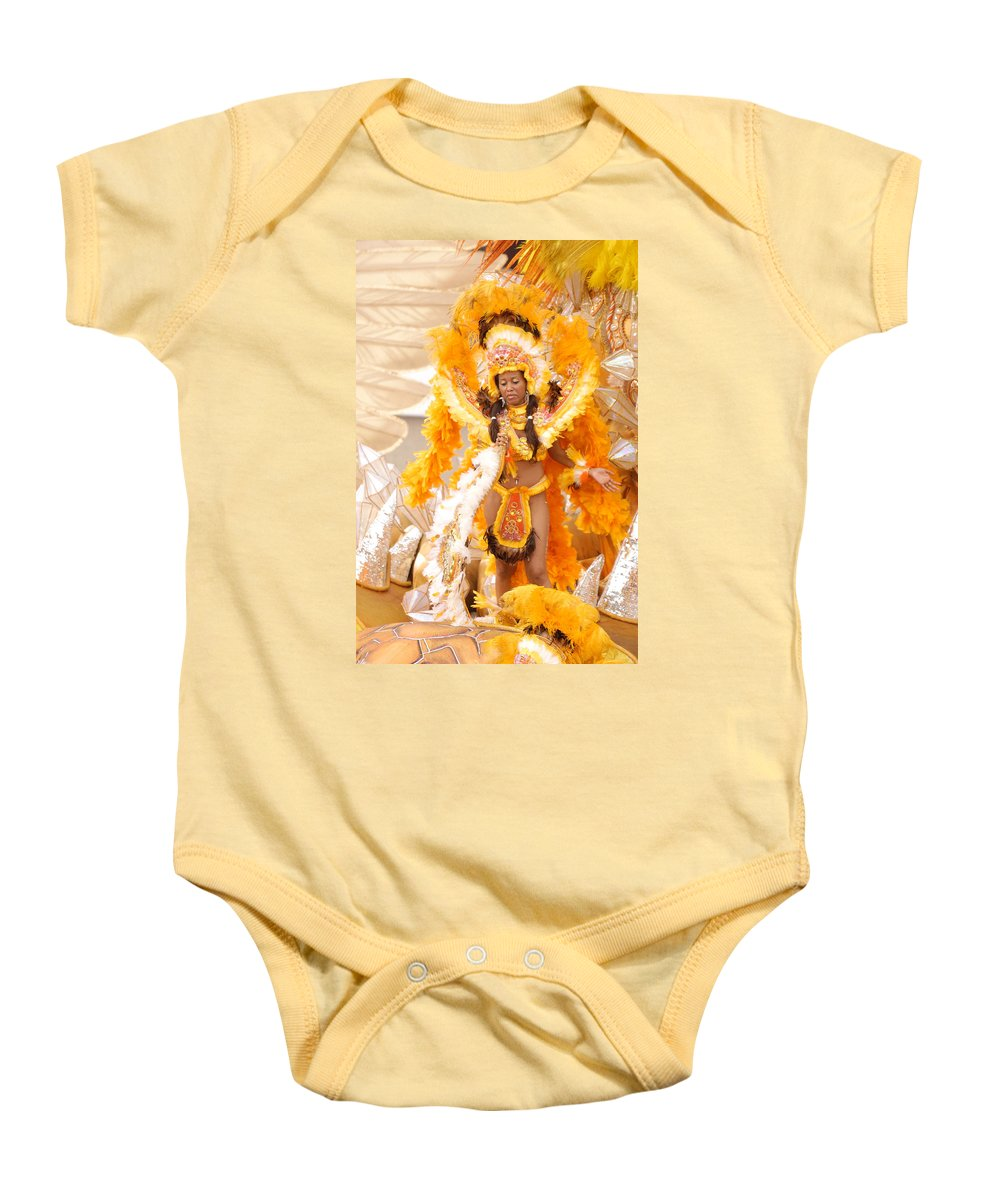 Brazil Baby Onesie featuring the photograph Lets Samba by Sebastian Musial