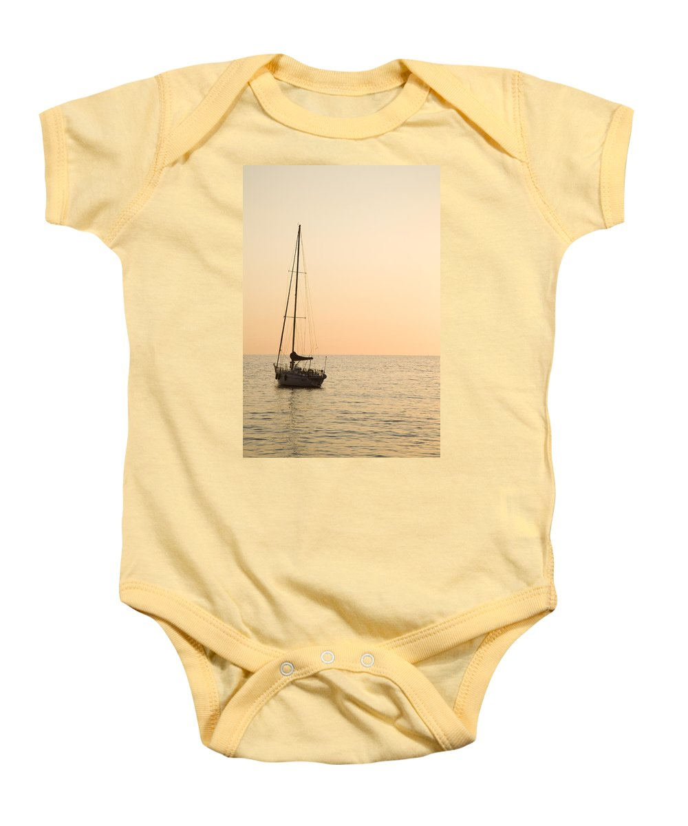 Travel Baby Onesie featuring the photograph Liguria by Ian Middleton