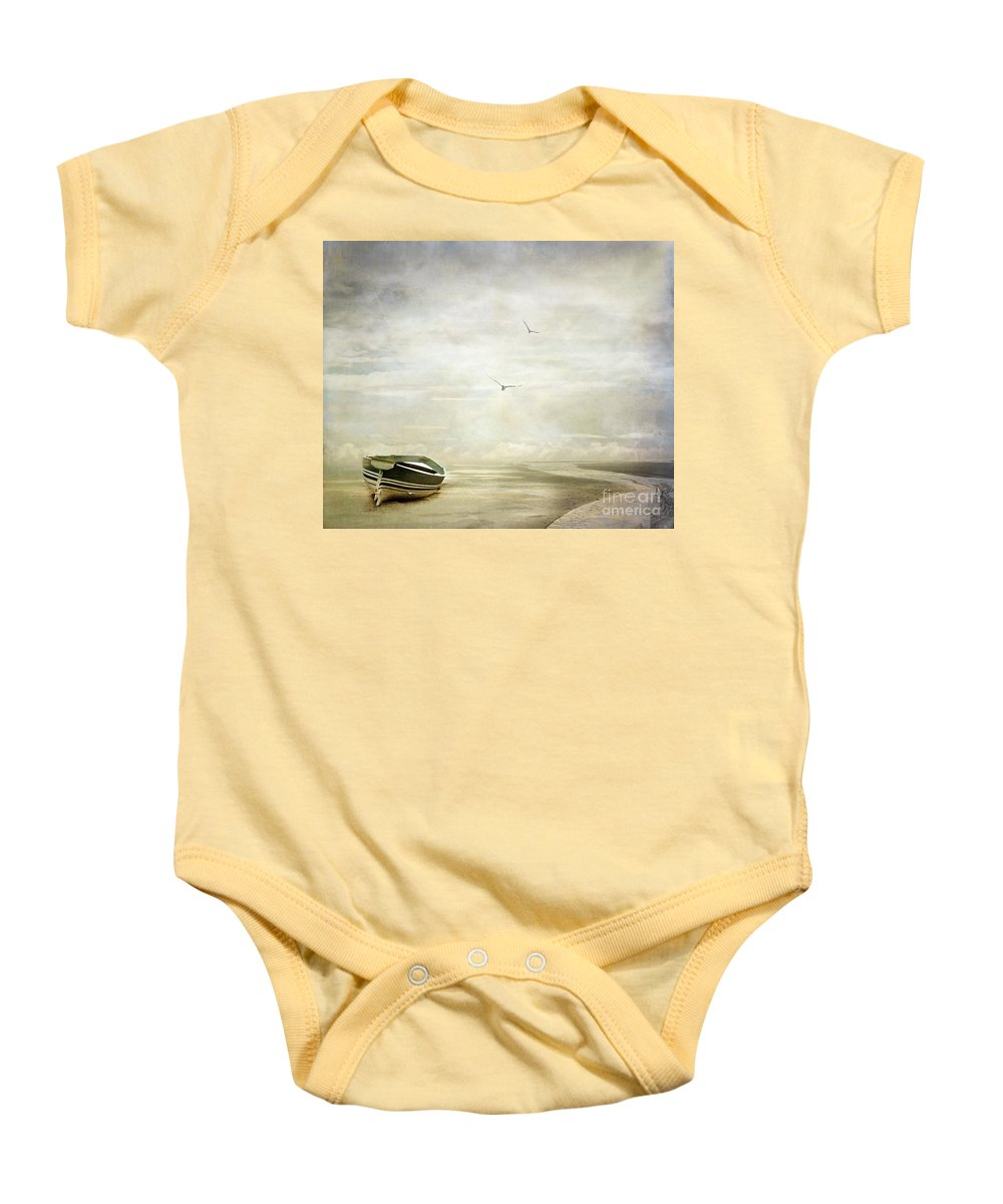 Beach Baby Onesie featuring the photograph Memories by Jacky Gerritsen
