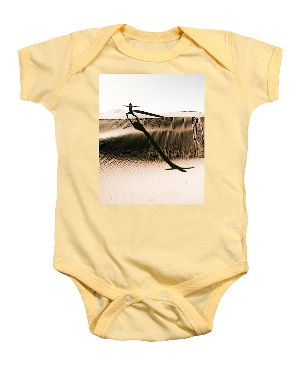 Yoga Baby Onesie featuring the photograph Mid Morning Anthem by Scott Sawyer