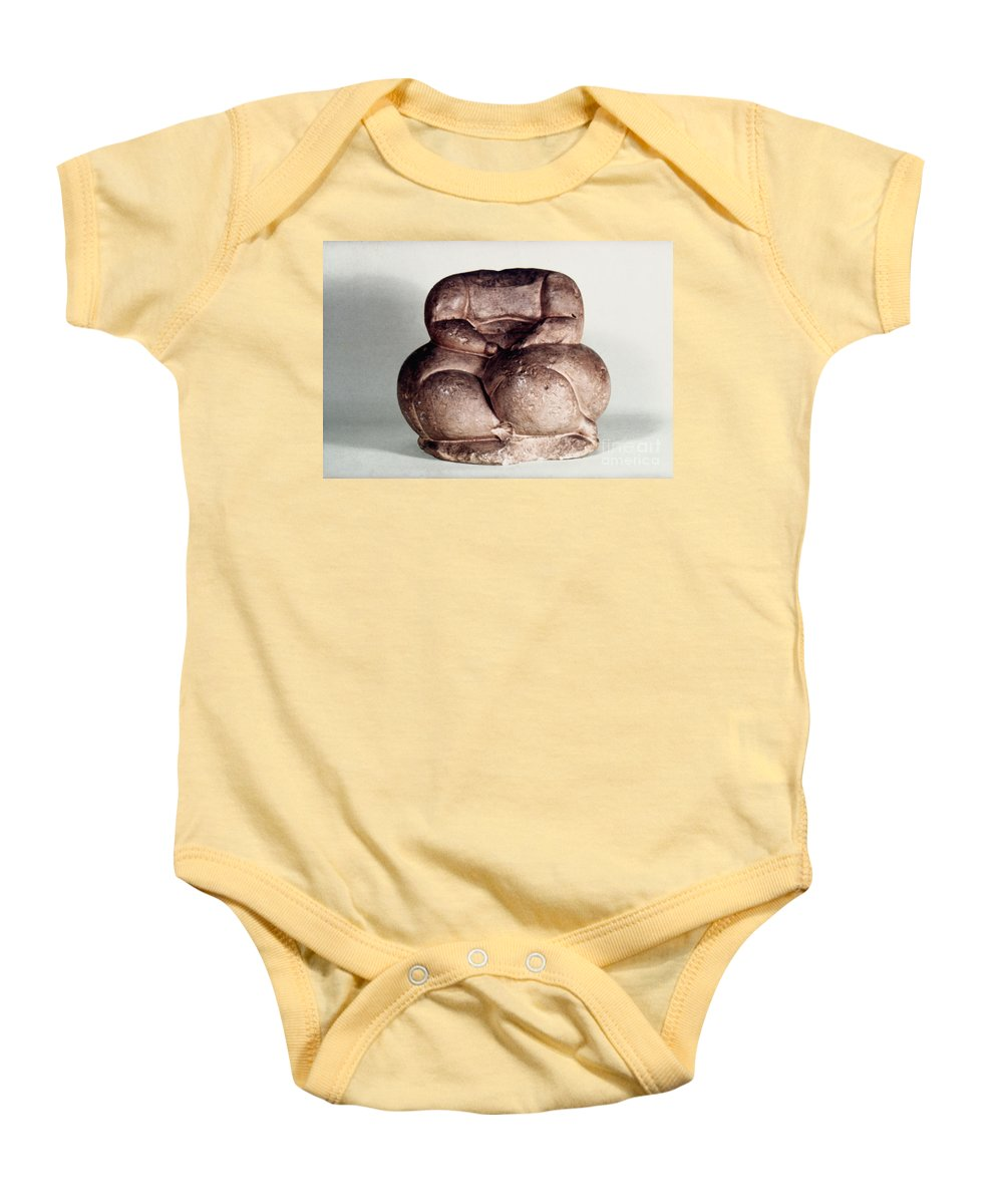 3500 B.c. Baby Onesie featuring the photograph Mother Goddess by Granger
